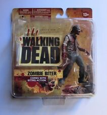 ZOMBIE BITER ACTION FIGURE THE WALKING DEAD TV SERIES 1 MCFARLANE NUOVO NEW