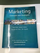 Marketing Concepts And Strategies Fifth Edition Dibb, Simkin, Pride and Ferrell