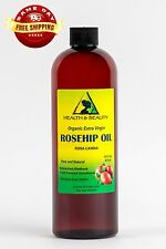 ROSEHIP SEED OIL UNREFINED ORGANIC by H&B Oils Center COLD PRESSED PURE 16 OZ