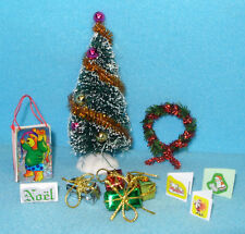 Set , Decorated Christmas Tree & Accessories 12th