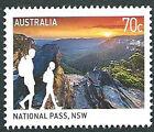 """Australia 2015 """"Great Australian Walks"""" National Pass NSW 70c Stamp:MUH"""