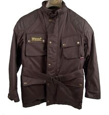 Authentic Belstaff Urban Jacket Junior EU Size 10 Waxed Cotton Tartan Lining