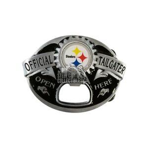 Pittsburgh Steelers Official Tailgater Bottle Opener Belt Buckle