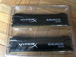 Kingston HyperX Savage - DDR4 - 8 Go : 2 x 4 Go - DIMM 288 broches 2666 MHz C13