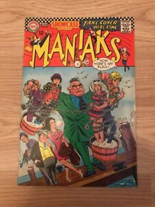 SHOWCASE#68 KEY FIRDT APPEARANCE IF MANIAKS SILVER AGE COMIC FADED ON THE RIGHT