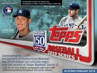 2019 Topps Series #1 Baseball  Hobby Sealed  Box Presell