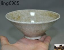 antique Old Chinese Ru kiln Official kiln porcelain glaze Ancient Bowl Cup Bowls