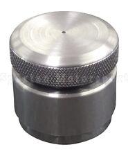 Billet Aluminum Vented Gas / Oil Cap & Aluminum Bung Kit Weld-On- Chopper Bobber