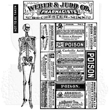 TH - Cling Stamp Set - Poisonous