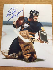 Buffalo Sabres Bob Sauve signed 8x10 W/COA pose 5