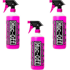 Muc-Off Bike Cleaner 1L Nano Tech Fast Action Motorcycle Bicycle Cleaning Spray