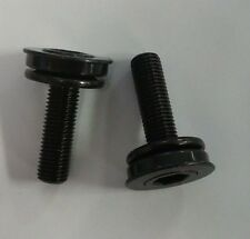 BMX 3 Piece 3 PC Crank Arm SPINDLE Bolt Attaching BOLTS set crank arm flush bolt