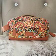 Baosha Floral Boho Makeup Travel Bag