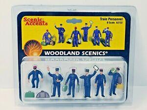Scenic Accents Train Personnel O Scale People A2722 Woodland Scenics 2004