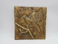 Mayo Mac Boggs Bird Avian Still Flight Fine Art Bronze Sculpture Wall Hanging