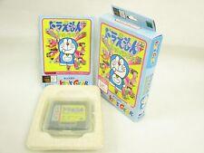 DORAEMON WAKUWAKU POCKET PARADISE Ref/bcb KIDS GEAR Sega Game Gear Boxed gg
