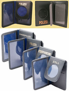 COP Polizeiausweismäppchen Ausweistasche Etui für Ausweis oder Polizei Abzeichen
