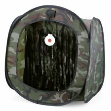 Target Box Paintball Shooting Tent Foldable Portable Camouflage Airsoft Hunting