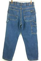 Five Brothers Carpenter Blue Denim Insulated Jeans Mens Size 34 X 32