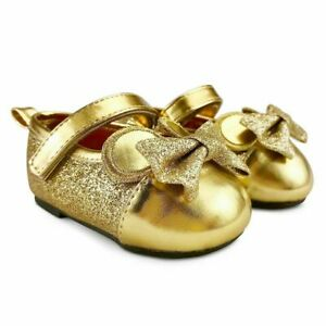Minnie Mouse Gold Dress Shoes for Baby Disney Store