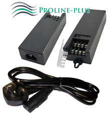 Cctv Fuente de alimentación para 4 cámaras, 12 VDC 5A con terminales de tornillo