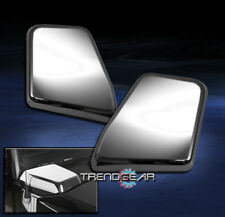 2003-2009 HUMMER H2 SUV SUT SIDE AIR INTAKE HOOD VENT COVER CHROME TRIM NEW PAIR