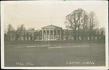 Mill Hill 'Grammar Schools' Barnett London - Mrs Booth, Weymouth 1915 RP JD229