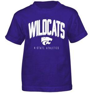 """Kansas State Wildcats NCAA Outerstuff Boys Purple """"Arch Standard"""" T-Shirt"""