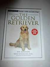 The Golden Retriever Hardcover Book by Eve Adamson = Terra-Nova, DVD Included182