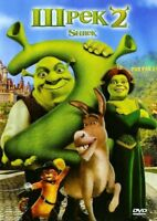 Shrek 2 (DVD, 2006) Russian,English