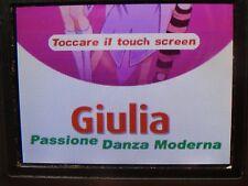 GIULIA PASSIONE DANZA MODERNA NINTENDO DS DSi 2DS 3DS PAL EU EUR ITA ITALIANO