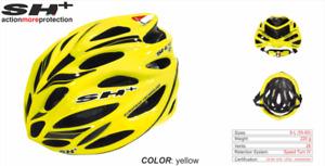 SH+ (SH Plus) Shot R1 Cycling Bicycle Helmet -Yellow/Blk (Was $184.99) Kask Giro
