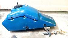 HONDA TRX 250R TRX250R GAS TANK FUEL TANK PETCOCK OEM FOURTRAX - BLUE OEM 86-89