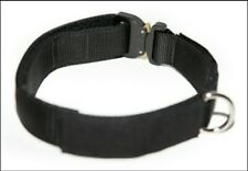Dean & Tyler DT Cobra Patch Collar Large L Working Dog K9 Police Removable Patch