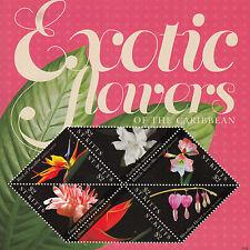 Saint Kitts 2011 Gomma integra, non linguellato FIORI ESOTICI DI CARAIBI 6v m/s i AMARILLI Gardenia FRANCOBOLLI