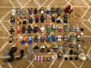 Lego Job Lot of MIni Figures Mixed Lot Series, Potter, Star Wars Marvel Etc