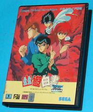 Yu-Yu Hakusho Gaiden - Sega Megadrive MD JAPAN JAP