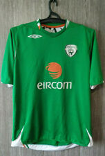 Ireland Soccer National Team Irish Green Jersey Shirt World Cup Mens Size L