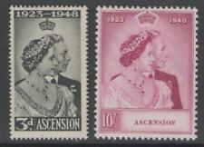 Ascensione SG50/1 1948 Argento Matrimonio MTD Nuovo di zecca