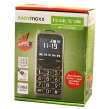 Easymaxx TV Unser Original Seniorenhandy Große Tasten Handy GRAU HU194 A-