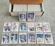 1990 Leaf Baseball Complete Series 1 & 2 528-Card Set Frank Thomas Sammy Sosa RC