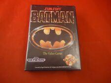 Batman Sunsoft Sega Genesis Empty Box ONLY (no manual, game)