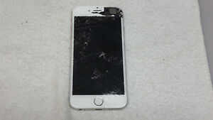 APPLE IPHONE 6 A1586 WHITE SPRINT (FOR PARTS)(PLEASE READ BELOW)