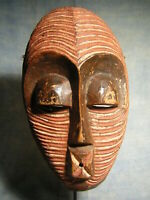 A fine LUBA mask *** AFRICANTIC FRANCE *** Old African Tribal Primitive Art