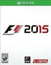 F1 2015 Formula 1 USED SEALED  (Microsoft Xbox One, 2015)