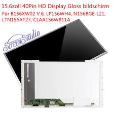 "B156XW02 V.6 LP156WH4 N156BGE-L21 LTN156AR15 CLAA156WB11A Display 15,6"" glossy"