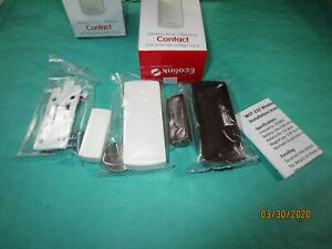 Lot of 5 Ecolink WST-232 Wireless Door Window Sensor- Honeywell & 2GIG 345MHz