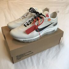 NIKE AIR MAX 97 x OFF WHITE « THE TEN » VIRGIL ABLOH / US10.5 UK9.5 EUR44.5