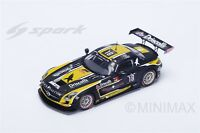 Mercedes-Benz SLS AMG GT3 24h Spa 2015  Black Falcon - 1:43 Spark SB 115