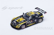 Mercedes-Benz SLS AMG GT3 24 Hours of Spa 2015  Black Falcon - 1:43 Spark SB 115